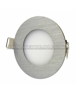 Точечный светильник Светкомплект DL 04 LED 4W R 6000K AL