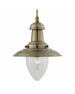 Подвесной светильник Searchlight 5787AB Fisherman