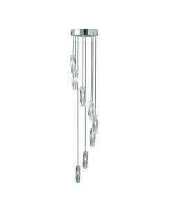 Подвесной светильник Searchlight 888-8 Sculptured Ice