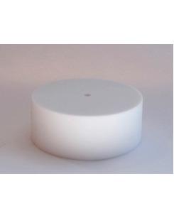 Потолочная чашка силиконовая белая