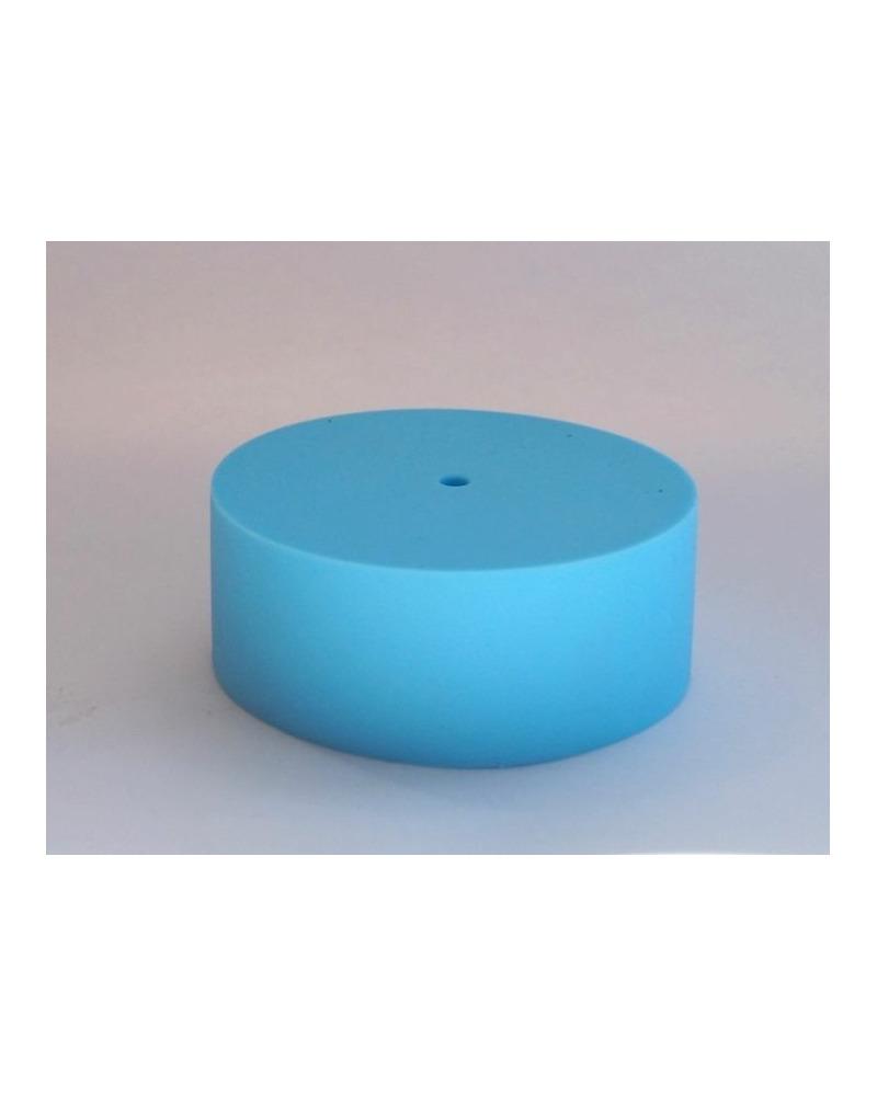 Потолочная чашка силиконовая голубая