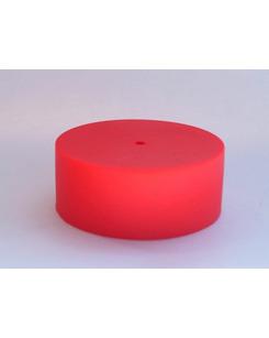Потолочная чашка силиконовая красная