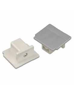 SLV 145594 End cap silver-grey