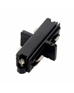 SLV 143090 Long connector, electrical black