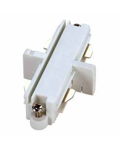 SLV 143091 Long connector, electrical white