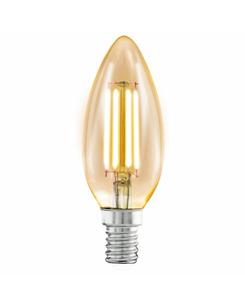 Лампа Эдисона E14-LED-C37