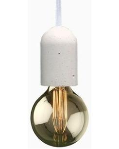 Бетонный светильник Agara 01104W Бочонок