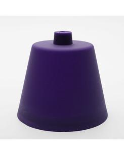 Потолочная чашка пластиковая фиолетовая