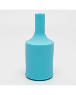 Патрон с силиконовой накладкой голубой