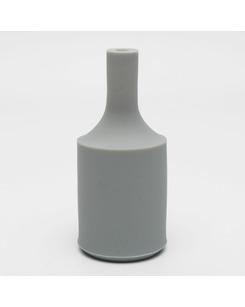 Патрон с силиконовой накладкой серый
