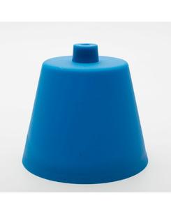 Потолочная чашка пластиковая синяя
