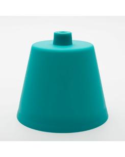 Потолочная чашка пластиковая бирюзовая