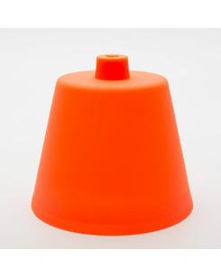 Потолочная чашка пластиковая оранжевая