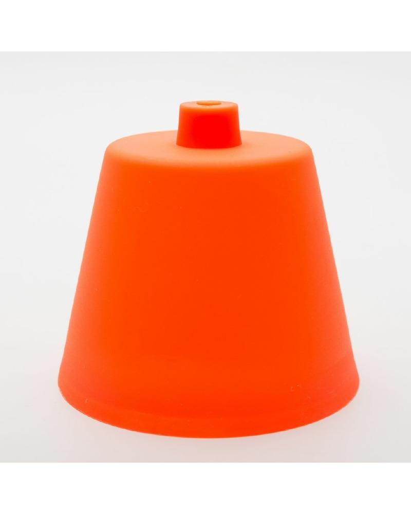 Пластиковый потолочный крепеж оранжевый