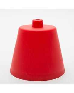 Потолочная чашка пластиковая красная