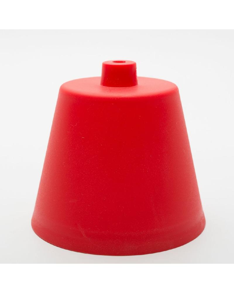 Пластиковый потолочный крепеж красный