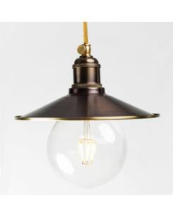 Подвесной светильник PikArt 610-1 коричневый