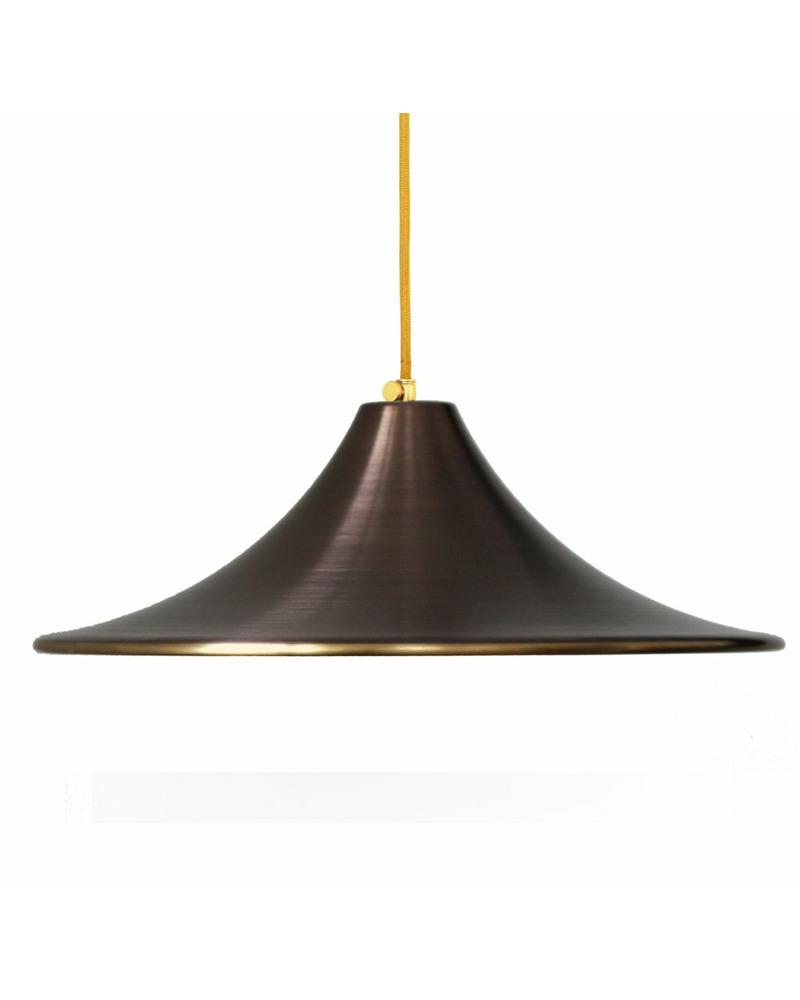 Подвесной светильник PikArt 1139-1 коричневый
