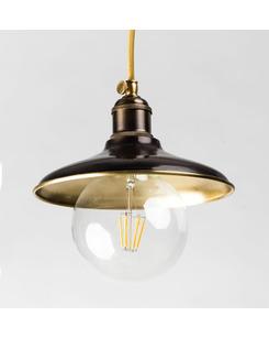 Подробнее о Подвесной светильник PikArt 1194-1 коричневый