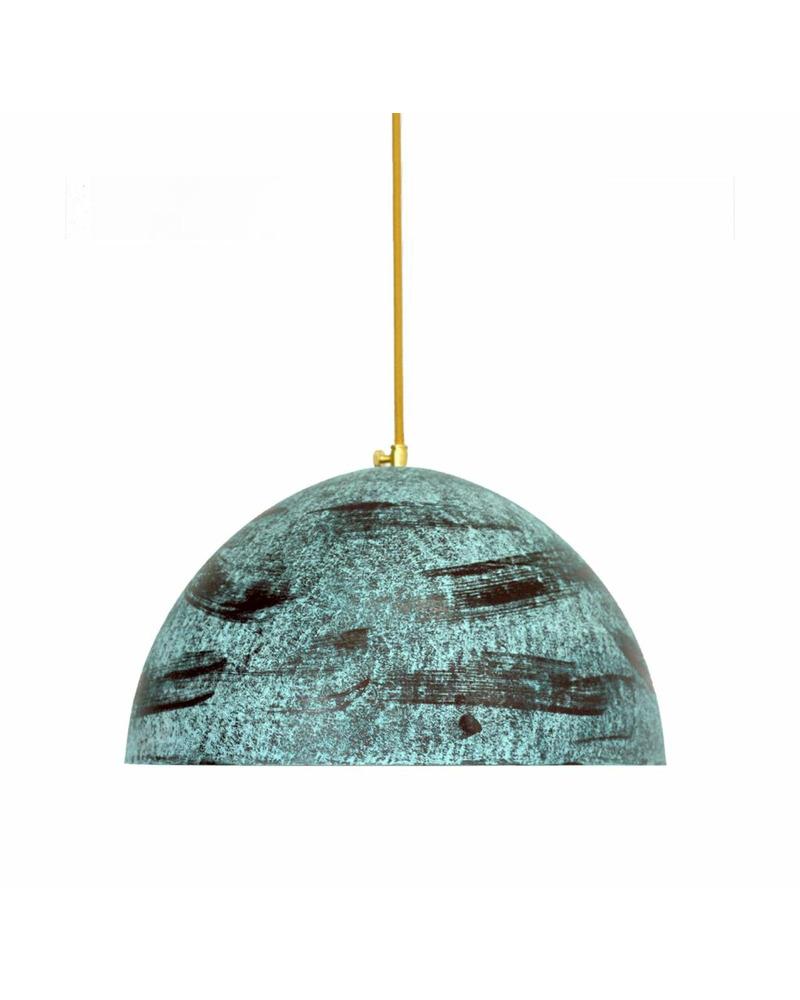 Подвесной светильник PikArt 2314-2 зеленая патина