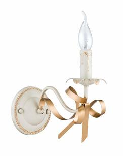 Бра Freya FR045-01-G/FR2045-WL-01-WG Arco Cream gold