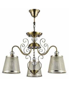 Люстра подвесная Freya FR405-03-R/FR2405-PL-03-BZ Driana Antique bronze