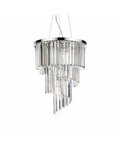 Люстра подвесная Ideal Lux Carlton Sp12 166247