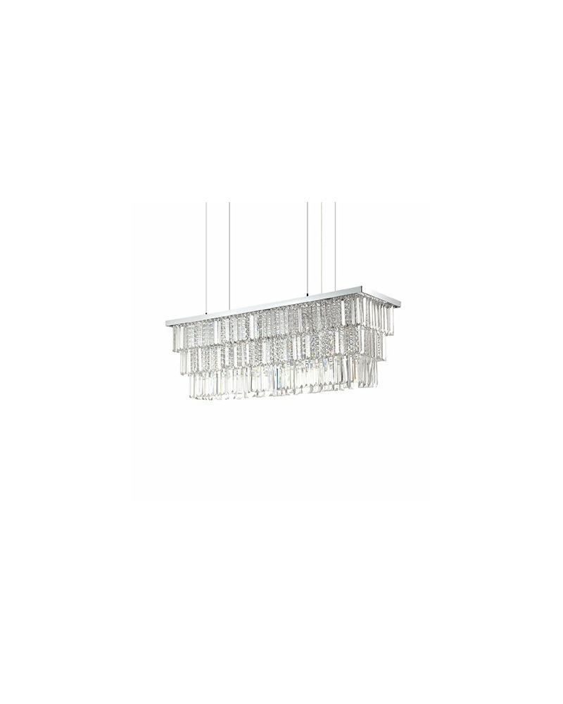 Люстра подвесная Ideal Lux Martinez Sp8 166360
