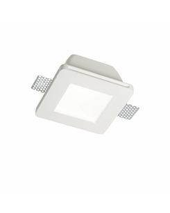 Гипсовый светильник Ideal Lux Samba Fi1 Square Big Glass 150116