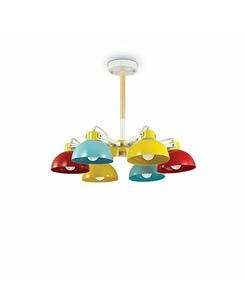 Люстра подвесная Ideal Lux Titti Pl6 157160