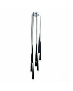 Подвесной светильник Azzardo AZ0161 BLACK STYLO (MD 1220A 8)