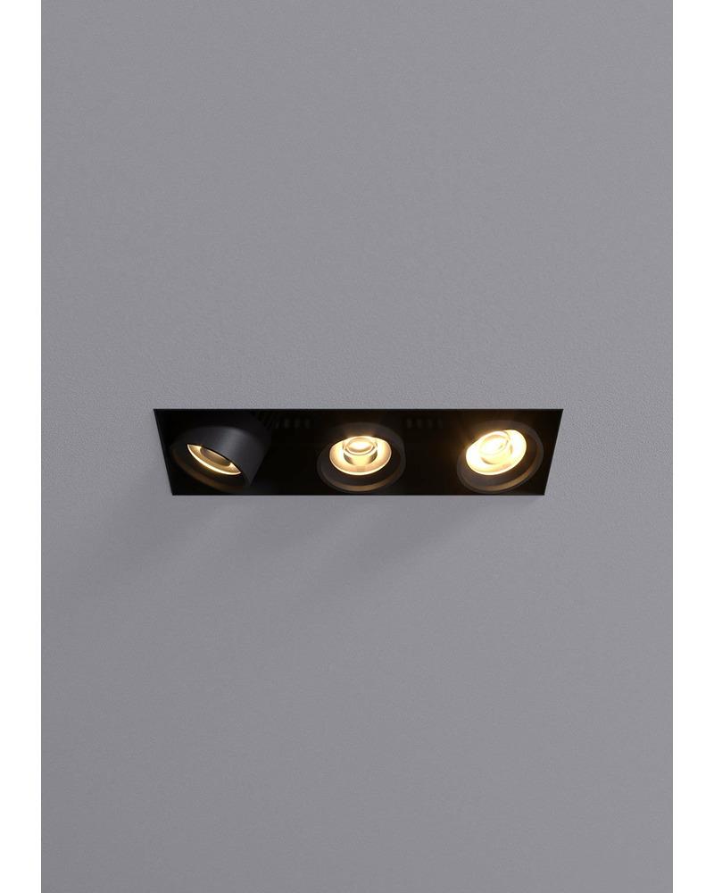 Точечный светильник Blanc R.FRLM.3X.10W.WM.31D.B 31° 30W