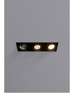 Точечный светильник Blanc R.FRLM.3X.10W.NL.20D.B 20° 30W