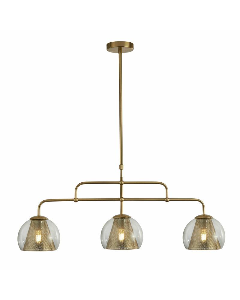 Подвесной светильник Searchlight 8273-3SB Conio