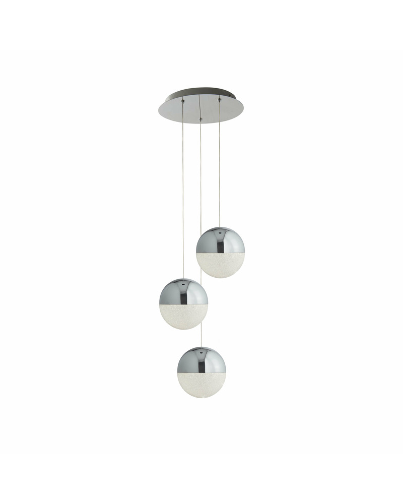 Подвесной светильник Searchlight 5842-3CC Marbles