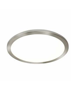 Потолочный светильник Searchlight 8101-40SS Flush