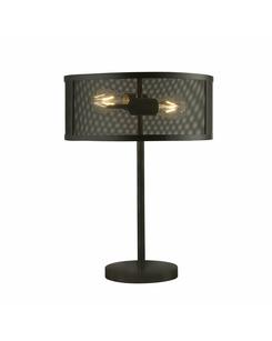 Настольная лампа Searchlight EU2822-2BK Fishnet