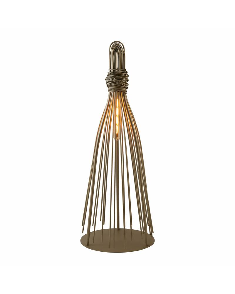 Настольная лампа Searchlight EU1860CP Caraffe