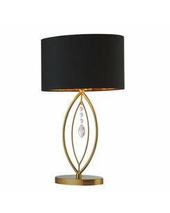 Подробнее о Настольная лампа Searchlight EU9138GO Crown
