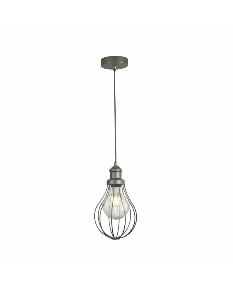 Подвесной светильник Searchlight 1381-1PW Balloon cage