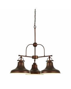 Подвесной светильник Searchlight 3183-3BZ Dallas