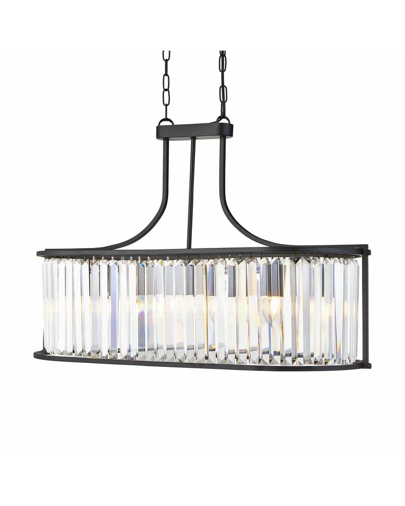Подвесной светильник Searchlight 8095-5BK Victoria