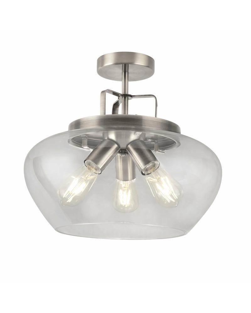 Потолочный светильник Searchlight 8973-3SS Boule