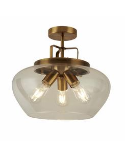 Потолочный светильник Searchlight 8973-3BZ Boule