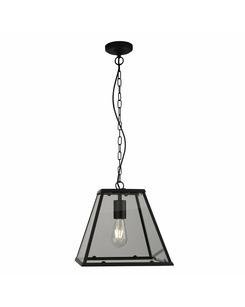 Подробнее о Подвесной светильник Searchlight 4661BK Lantern