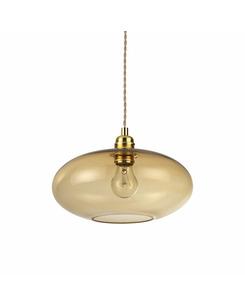 Подвесной светильник Ideal Lux Blob sp1 ambra 207988