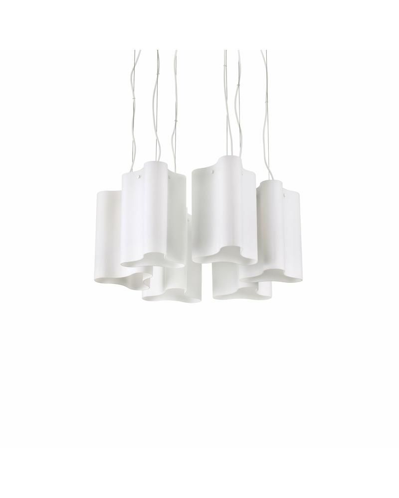Люстра подвесная Ideal Lux Compo sp6 bianco 208046