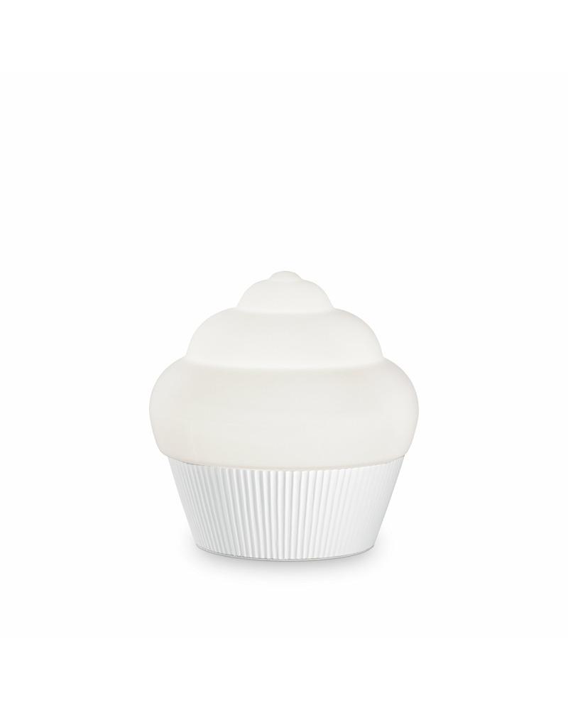 Настольная лампа Ideal Lux Cupcake tl1 bianco 194417