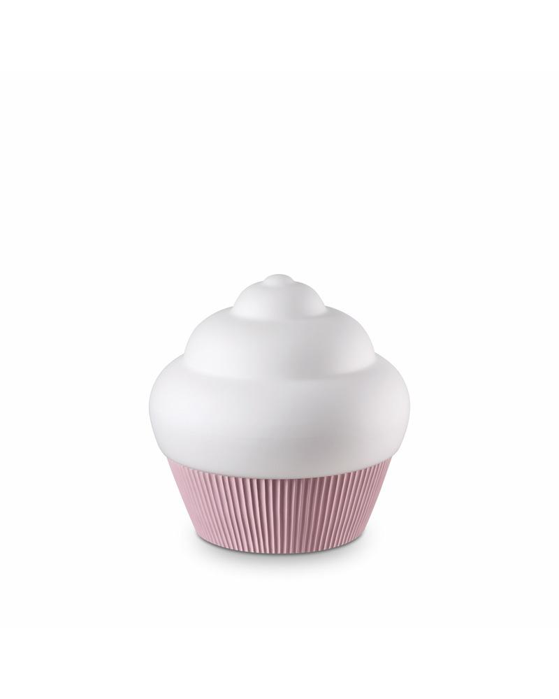 Настольная лампа Ideal Lux Cupcake tl1 rosa 194448