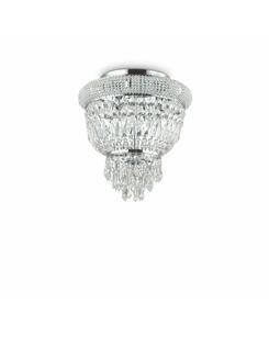 Потолочный светильник Ideal Lux Dubai pl3 cromo 207162